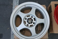 """Rims Full Set of Drag DR-23  15""""x6.5""""  4x100  40offset Flat Silver DR23 4 Hole"""