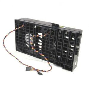 Dell-Precision-T3500-T5500-Workstation-Dual-Cooling-Fan-Assembly-HW856-CP232-X1