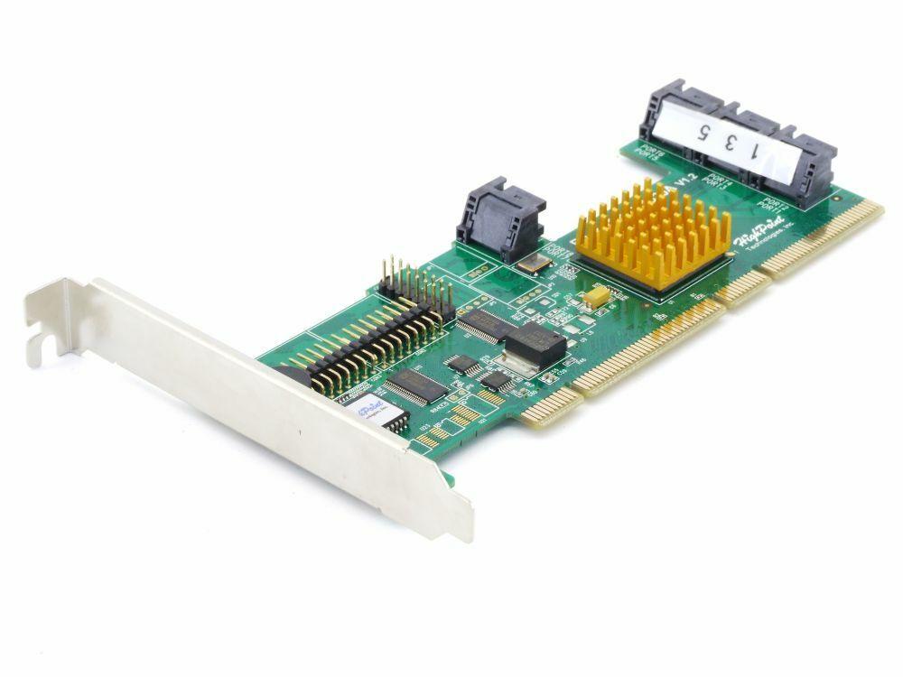 HighPoint Rocketraid 1820A 8-Port SATA Raid Controller Card Pci-X 64bit Card