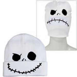 26137dfd38c Image is loading Nightmare-Before-Christmas-Jack-Skellington-Roll-Down-Mask-