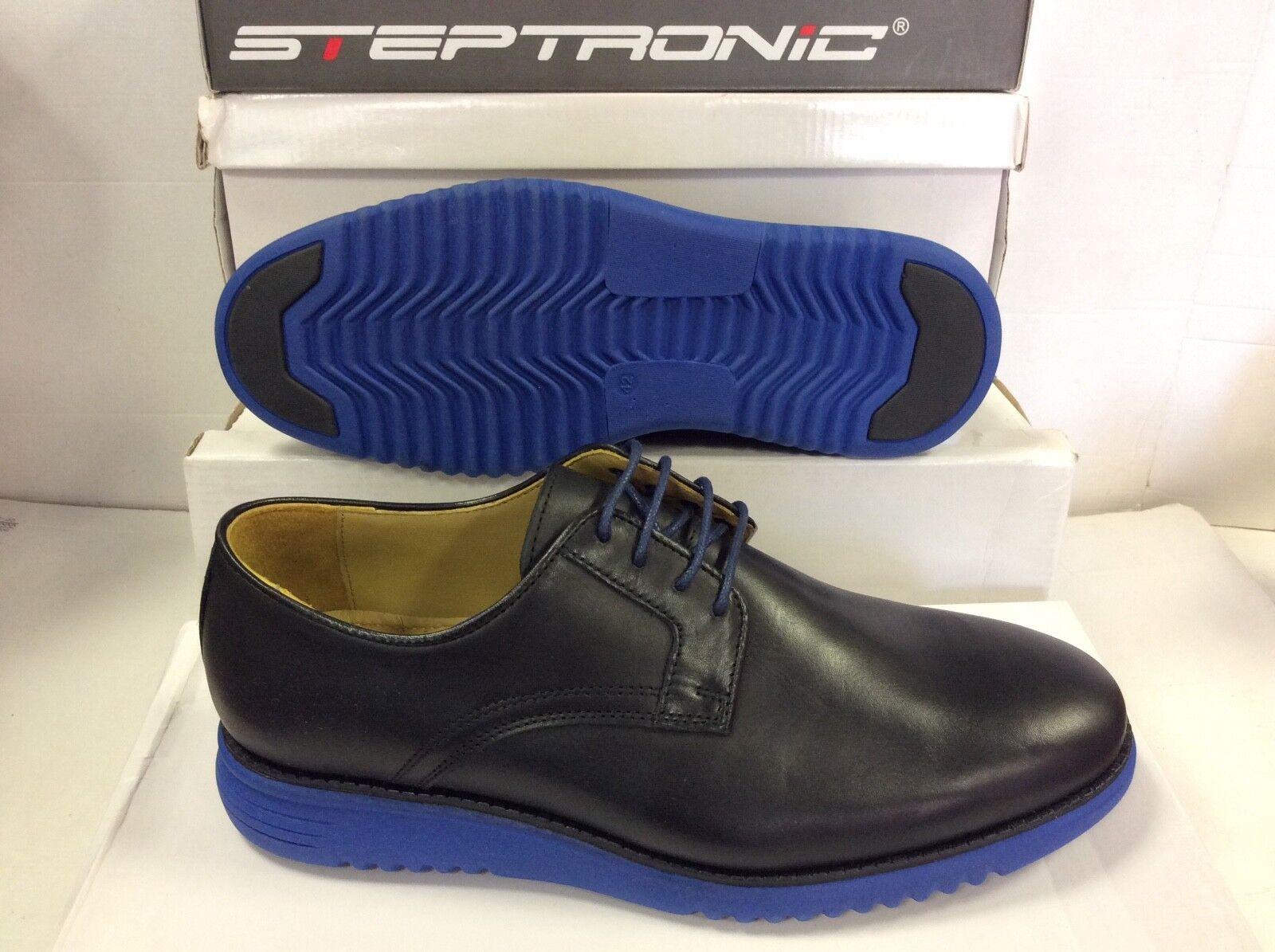 STEPTRONIC Cooper Nero Pelle /EUR Scarpe da uomo, taglia /EUR Pelle 42 c32c09