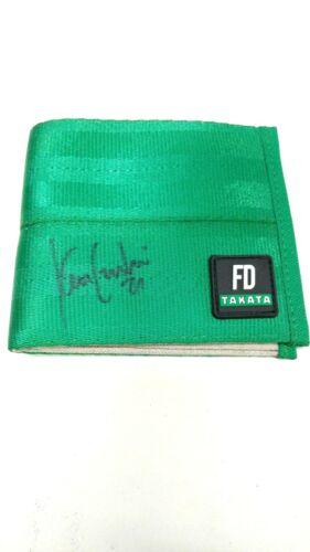 AUTHENTIC TAKATA FD Green Wallet Tuerck Forsberg Gushi Aasbo Field Mad Mike JDM