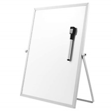 Stobok Magnetic Dry Erase Board With Stand Magnetic White Board Easel For Kids