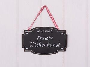 Metallschild-034-Feinste-Kuchenkunst