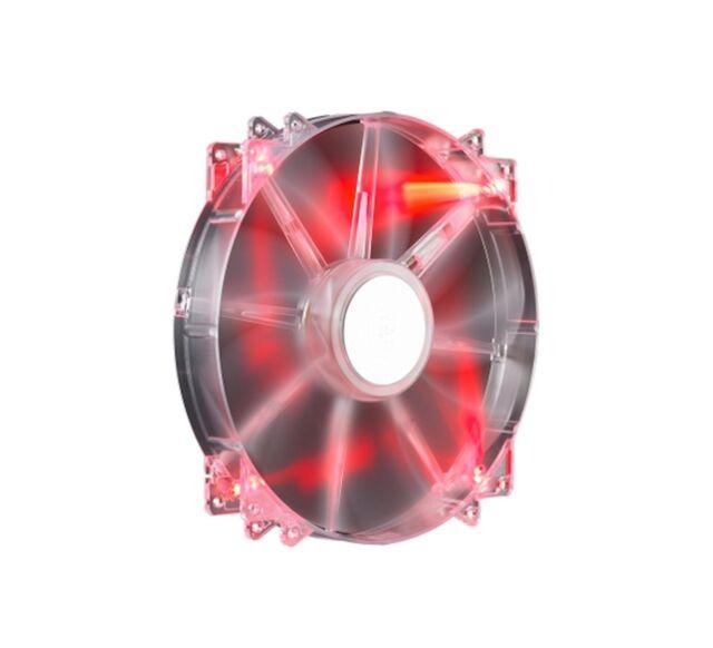 Cooler Master MegaFlow 200 Red LED Gehäuselüfter (rot beleuchtet, Retail)