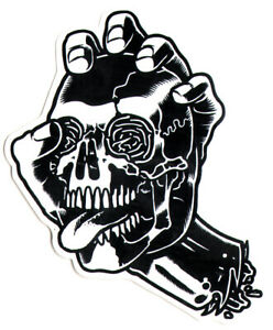 Santa-Cruz-Screaming-Skull-Skateboard-Sticker-skate-board-sk8-new