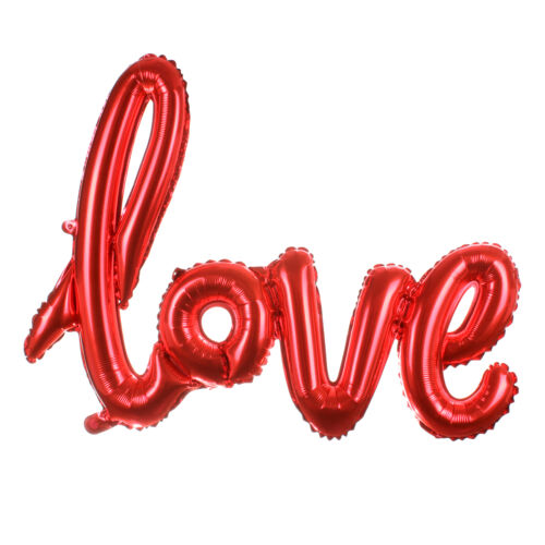 I Love You Heart Foil Balloon Anniversary Wedding Valentines Party Decor
