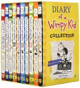 Diary-of-a-Wimpy-Kid-Collection-10-Books-Box-Set-Jeff-Kinney-New