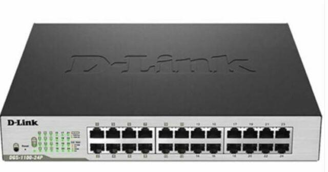 Commutateur Ethernet D-Link DGS-1100-24 24 Ports Gérable