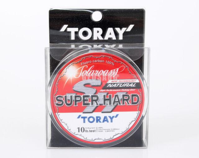 TORAY-SUPER HARD NATURAL 100m #3~16lbs / Fluorocarbon 100% Fishing Line