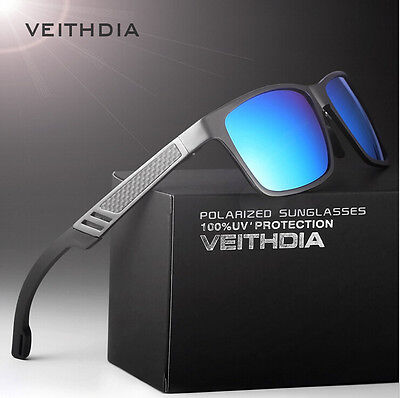 2016 New Aluminium Polarized Sunglasses Retro Mirrored Driving Eyewear Shades