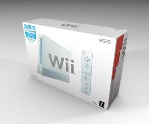 Caja vacia Nintendo Wii (no incluye la consola) | Nintendo Wii empty box