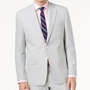 c66392ef1 Ralph Lauren Men s Cotton Seersucker Ultraflex Stripe Classic Fit ...