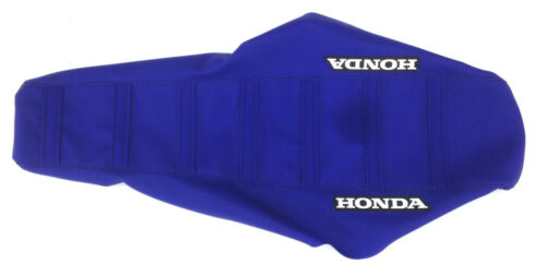 "New Blue /""Honda/"" Ribbed Seat cover XR80 XR100 2001-03,CRF80 CRF100 2003-2012"