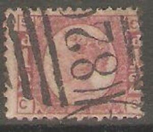 1870-Sg49-1-2d-Rose-Pl-20-CS-Wmk-Half-Penny-across-3-stamps-Cat-85-00p