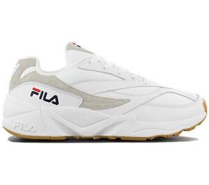 Details about Fila V94M Venom Low Men's Sneakers 1010255.1FG White Leisure  Shoes