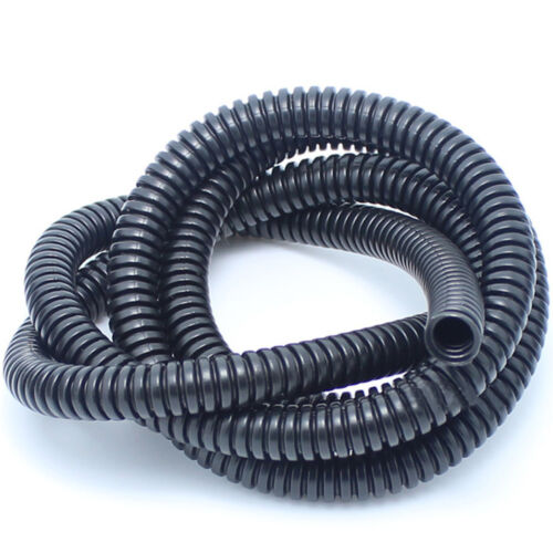 20/' Feet FT 28mm Black Split Loom Wire Flexible Tubing Conduit Hose Car