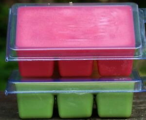 6pk 100hr VANILLA /& CHOCOLATE FUDGE Triple Scent SOY CANDLE MELTS for OIL BURNER