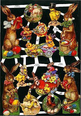 GroßZüGig # Glanzbilder # Ef 7206 Ostern Wunderschöne Alte Motive