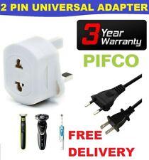Value Range PIF2039 2 Pin /& 3 Pin Travel Adaptor for Visitors to UK