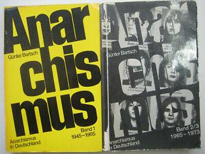 Bartsch Anarchismus in Germania 1945-1973 3 BDE storia RAF APO SDS DKP