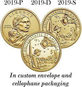 Sacagawea Dollar Coins BU UNC 2020 P Native American 2 Mint Rolls $50