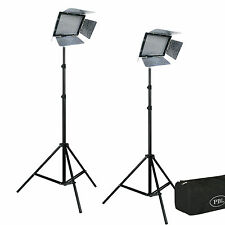 Yongnuo YN600 LED Light Kit Studio Portable Video Photo Camcorder  Batteries