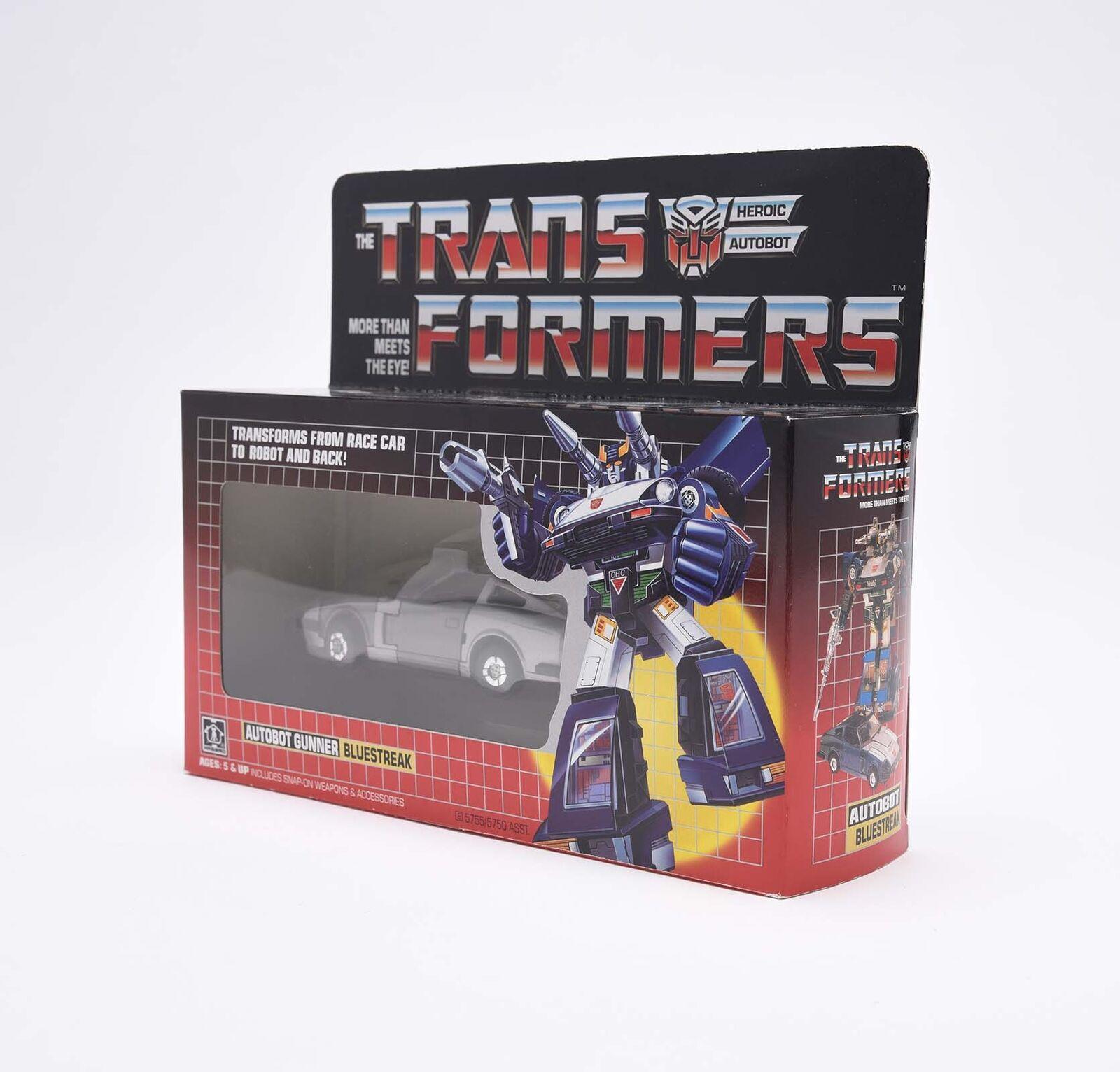 Transformers g1 bleustreak Reissue Action Figure Best eau Neuf