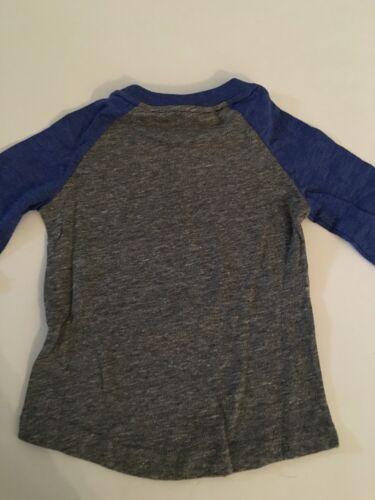 NFL New York Giants Girl Raglan T Shirt Top Tee Size Small Medium Large 4 5 6 6X