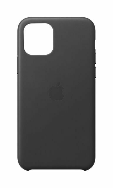 Apple Leather Case for iPhone 11 Pro - Black