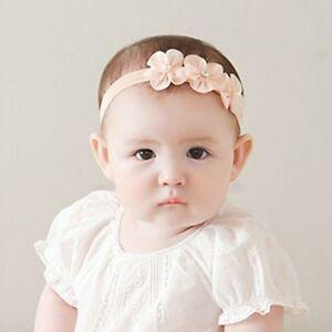 Hot Baby Girl Kids Newborn Flower Headband Girls Headbands Hair Band ... d6815102c3f