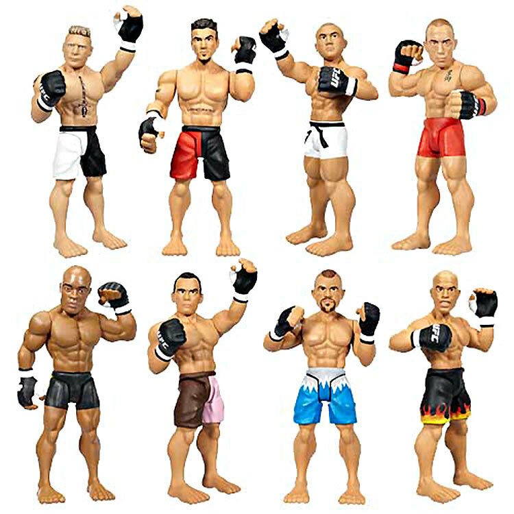 NEW Ultimate Fighting Championship Fighters UFC Micro Fighters Championship BJ Penn GSP Set MIP a7ff0f