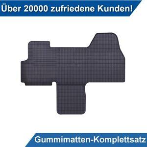 2007-2016 Fußmatten Autoteppiche CARBON Citroen Jumpy II Bj