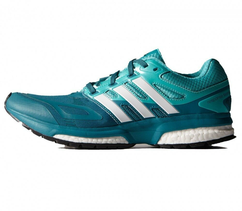 NEW Adidas RESPONSE Boost Boost Boost Women's Running Teal Green Size 7, 38 EUR 402f47