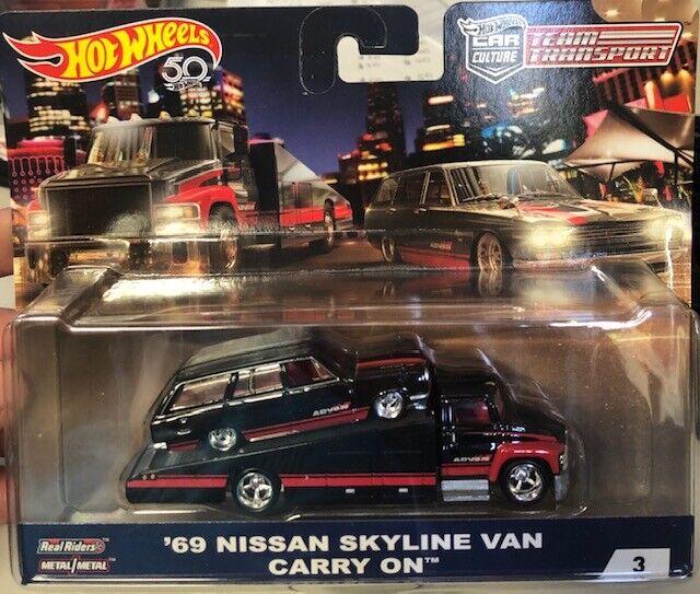 1 64 Hot Wtalons Team Transport 66 voiturery  on Nissan Skyline Wagon ADVAN  distribution globale
