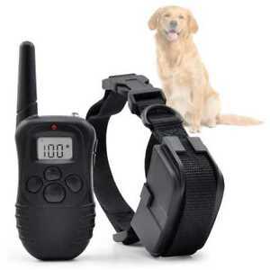 Collar-de-Adiestramiento-para-Perros-Descarga-Vibracion-y-Pitido-Antiladridos