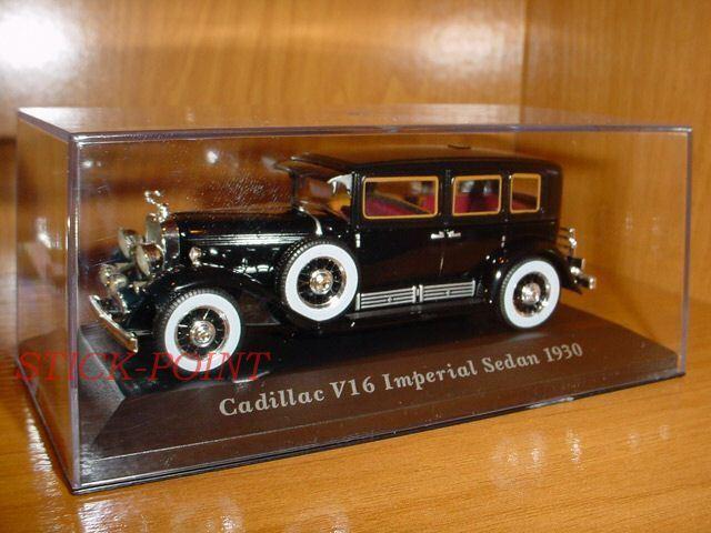 V16 v-16 cadillac imperial sedan 1930 Classic 1 43 mint