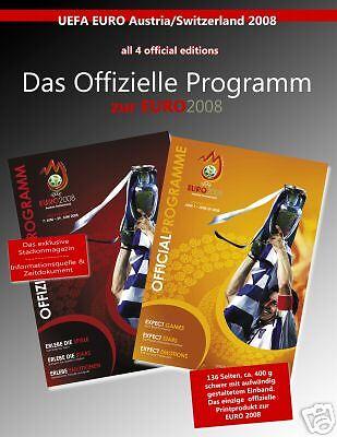 All 4 Official Programmes UEFA EURO 2008 incl. Final  | Ein Gleichgewicht zwischen Zähigkeit und Härte