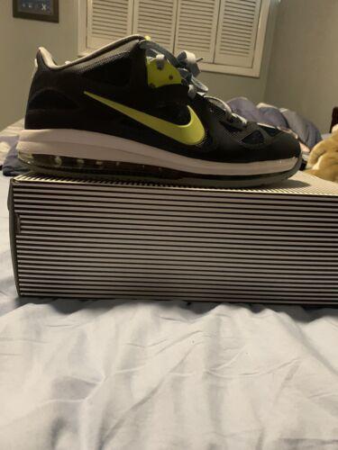 Nike Lebron  IX 9 Low Cyber  Obsidian blue