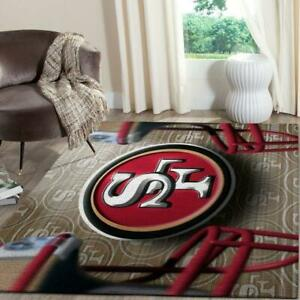 San Francisco 49ers Super Bowl 2020 Area Rug Living Room Rug Home Decor Loor Ebay