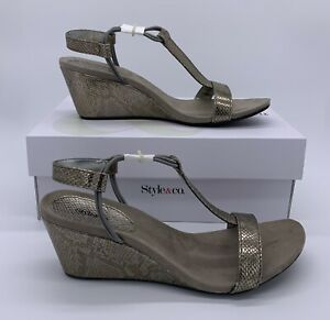 Womens Mulan Open Toe Casual Platform Sandals Details about  /Style /& Co