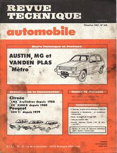 En Herbe Rta Revue Technique Automobile N° 428 Austin Mg Vanden Plas Metro Bas Prix