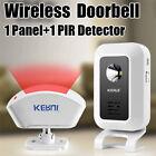 KERUI Welcome Chime Wireless Infrared IR Motion Sensor Door bell Alarm Doorbell