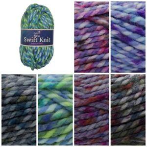 Stylecraft-SWIFT-KNIT-SUPER-CHUNKY-Acrylic-and-Wool-Knitting-Yarn-100g-Ball