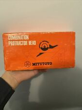 Mitutoyo Combination Protractor Head Size 12 Code 180 301