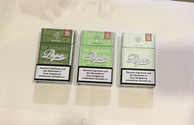 5 Stück Pepe Metall Fine Green Blech Zigarettenbox Zigarettendose Schachtel