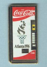1996 ATLANTA SUMMER OLYMPIC GOLD TORCH VERSION COCA COLA MASCHINE SCARCE