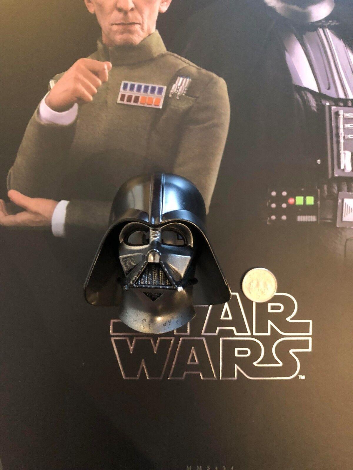 Hot Toys Star Wars Darth Vader Helmet Head Sculpt MMS434 loose 1/6th scale