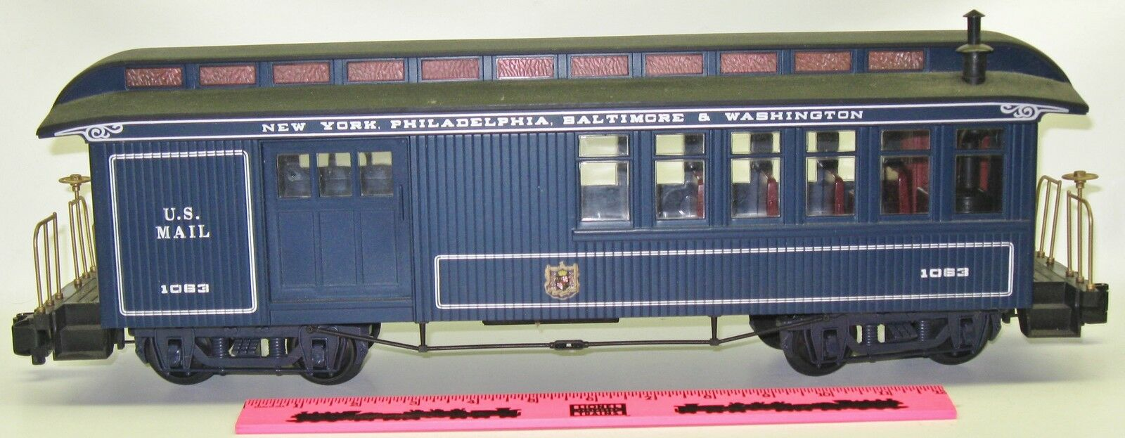 Bachmann 1063 New York, Philadelphia, Baltimore & Washington US Mail car