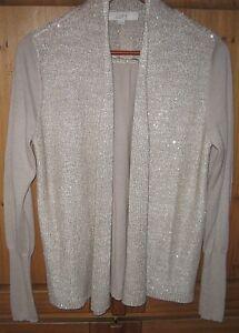 Ann-Taylor-LOFT-Women-039-s-Cardigan-Sweater-Light-Weight-Wrap-Swing